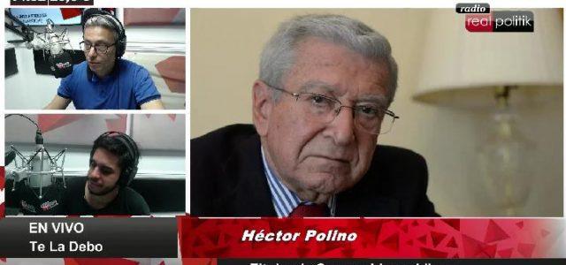 """El titular de Consumidores Libres, Héctor Polino, dialogó con RADIO REALPOLITIK (www.realpolitik.fm) sobre el aumento de la canasta navideña en vísperas de las fiestas de fin de año. """"Este año […]"""