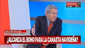 El titular de Consumidores Libres Hector Polino hizo referencia a las nuevas medidas que dará a conocer el Gobierno y al vigente programa Precios Cuidados.